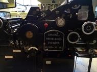 The Bixler's flatbed Cylinder Press
