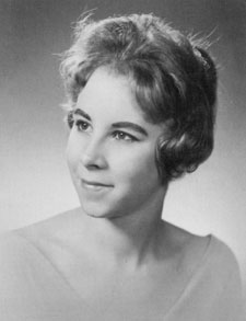 Susan Marion Garretson from The Cardinal 1960 courtesy of the Long Library Archive