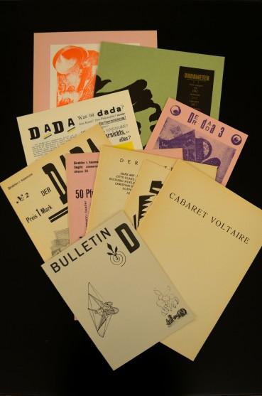 """facsimile of """"Dada Zeitschriften"""""""