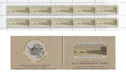 Antarctica-Stamp-bklt-Pole-
