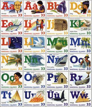 marshallese alphabet